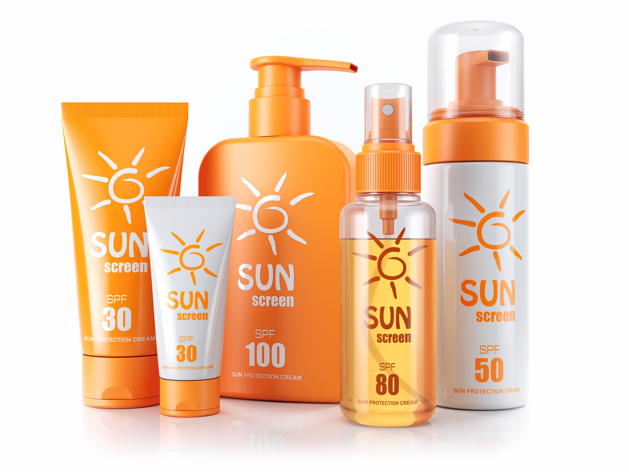 Different Types of Sunscreen