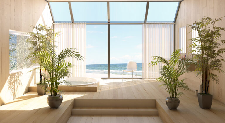 Window tinting for your waterfront home can block UV rays, help regulate the temperature, lower energy bills, and give you privacy.