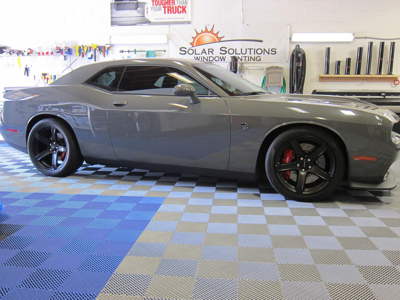 2017 Dodge Challenger Hellcat Gets New Tint | Solar Solutions